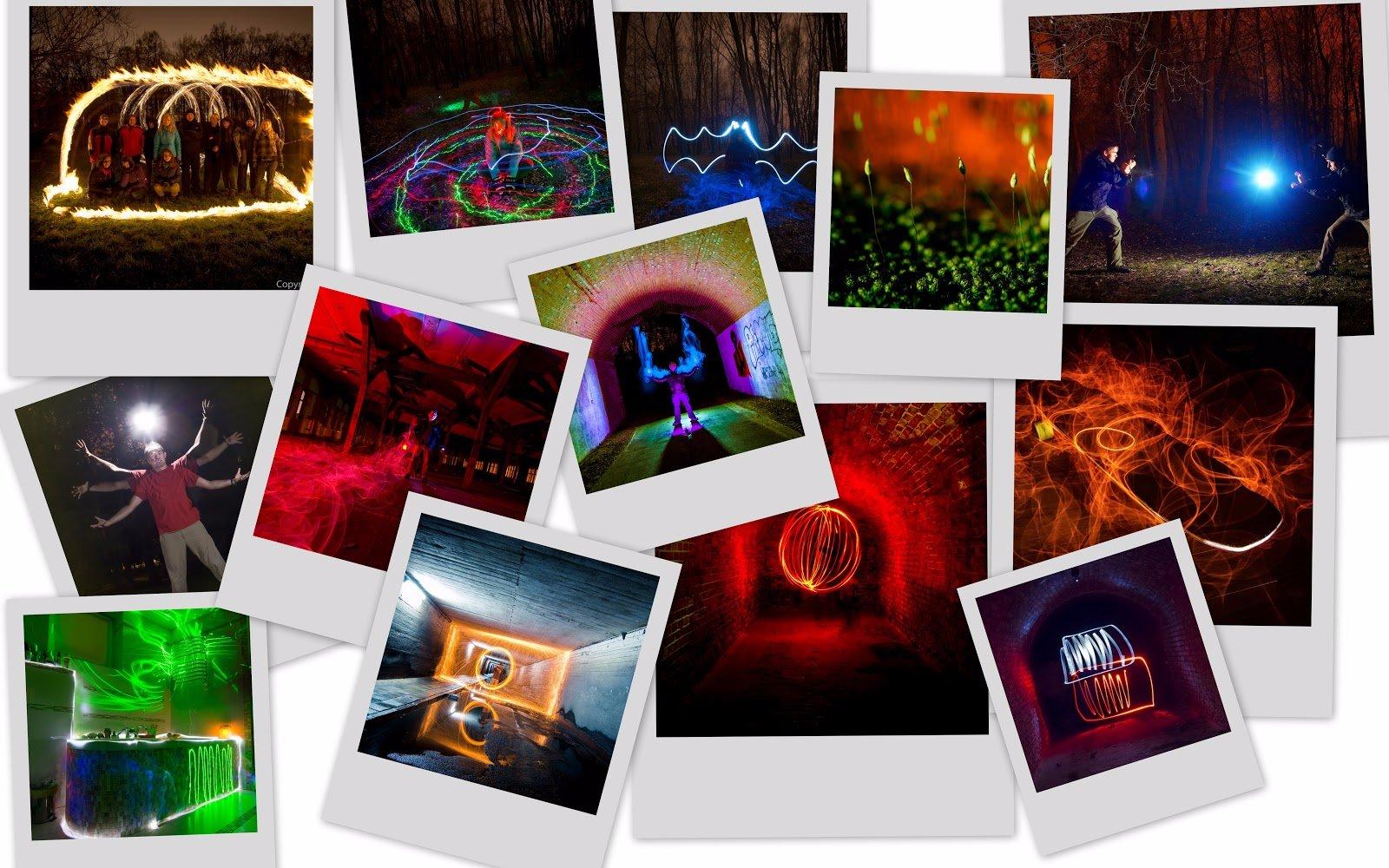 Warsztaty fotograficzne z Malowania Światłem